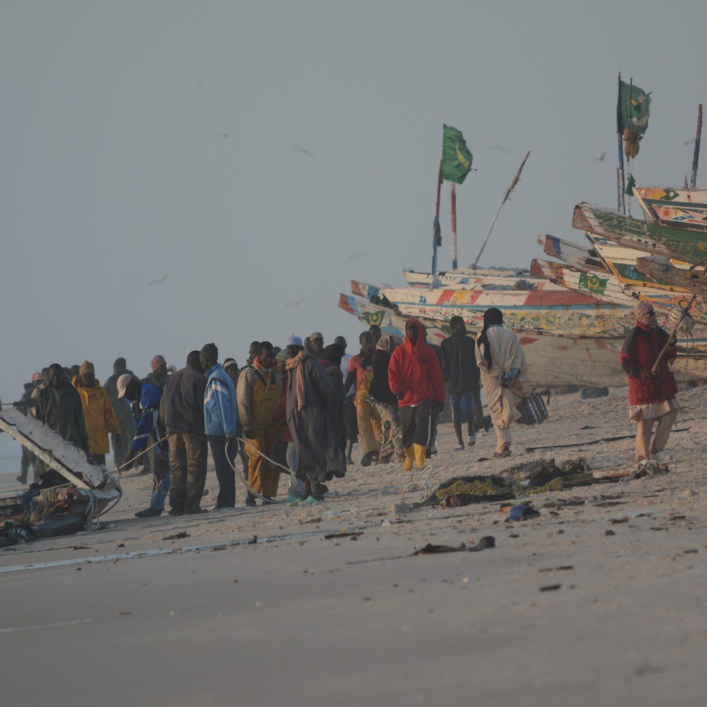 Pescadores de Nouakchott