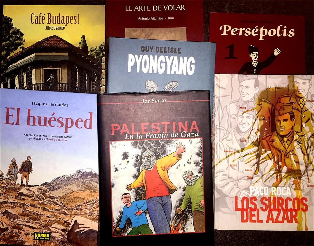 Diez cómics de viajes que debes leer