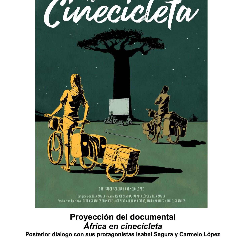 La cinecicleta en Tenerife