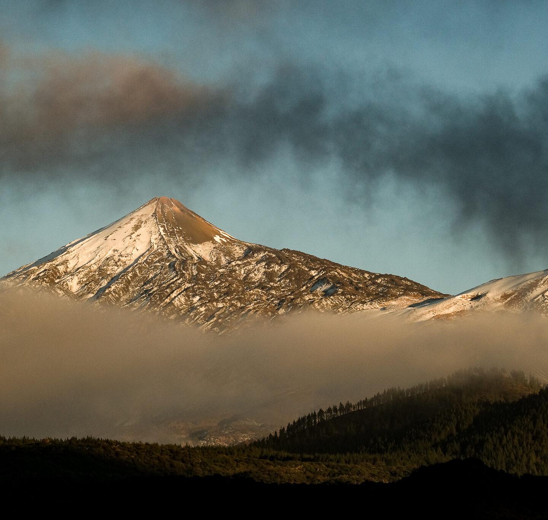 El Parque Nacional de El Teide a pie