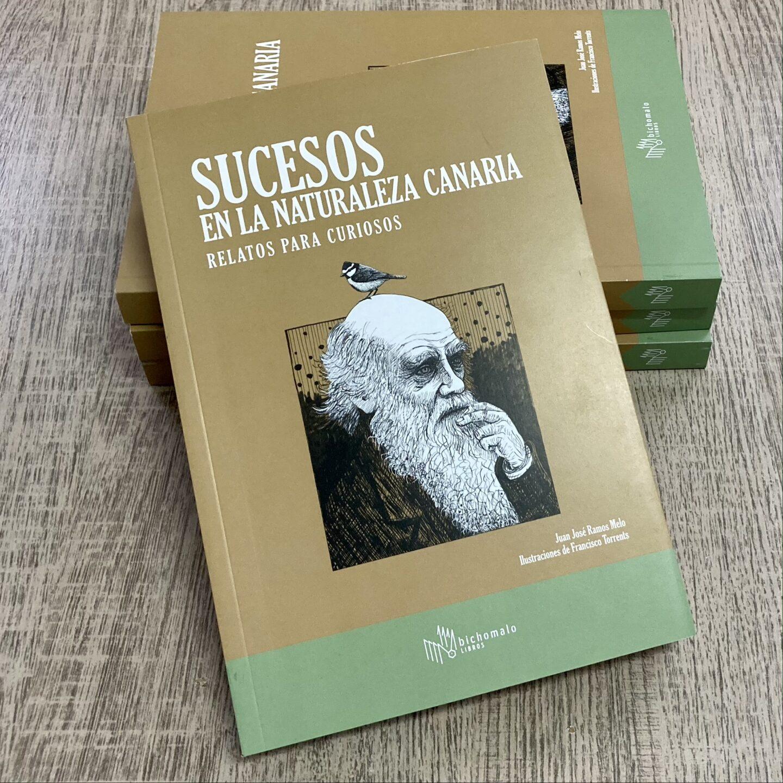Mi nuevo libro!!!! Sucesos en la naturaleza Canaria